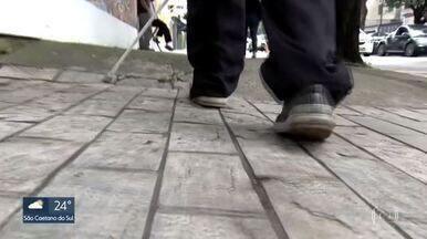 Calçadas e ruas de São Paulo têm as piores condições de acessibilidade - A pesquisa foi realizada pela rede Nossa São Paulo.