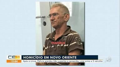 Homem é assassinado em Novo Oriente e loja é arrombada em Crateús - Saiba mais no g1.com.br/ce