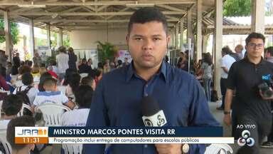 Ministro da Ciência e Tecnologia visita Roraima - Programação inclui entrega de computadores para escolas públicas