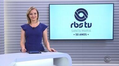 RBS TV Santa Maria completa 50 anos na próxima sexta-feira - Emissora foi a segunda no interior do estado. A primeira reportagem mostra como a RBS TV Santa Maria nasceu