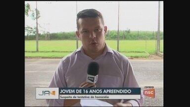 Polícia apreende suspeito de tentativa de assassinato; foragido do RS é preso em Galvão - Polícia apreende suspeito de tentativa de assassinato; foragido do RS é preso em Galvão