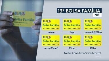 Décimo terceiro do Bolsa Família começa a ser liberado para beneficiários - Calendário é de acordo com o número do cartão NIS.