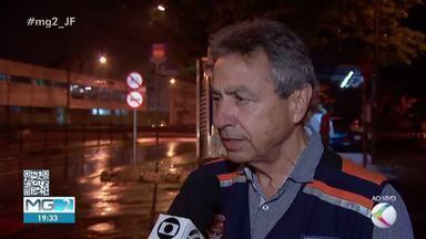 Defesa Civil alerta para cuidados nos dias chuvosos em Juiz de Fora - Coordenador da pasta, Jefferson Rodrigues, falou sobre o assunto no MG2.