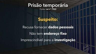 Prisão temporária: entenda em que situações a Justiça pode decretar esse tipo de prisão - O MS2 está exibindo, esta semana, uma série sobre os tipos de prisões no Brasil.