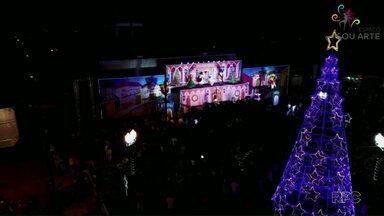 Apresentação especial de Natal em Santa Terezinha de Itaipu - Além do espetáculo hoje (11), às 20h30, tem também a presença do Papai Noel para a criançada.
