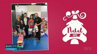 Veja as últimas participações da campanha Natal RPC - Muitos brinquedos foram doados e agora serão distribuídos para crianças carentes.