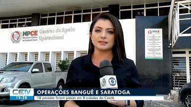 Polícia prende 18 pessoas no Ceará em duas operações contra facções criminosas - Confira mais notícias em g1.globo.com/ce
