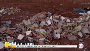 DF tem cerca de mil lixões iregulares - O DF Legal informou que as multas para descarte irregular podem chegar a R$ 21 mil. Este ano, foram registradas 663 infrações.