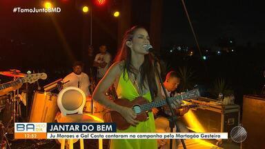 Gal Costa e Ju Moraes fazem show beneficente em prol do Hospital Martagão Gesteira - O evento solidário aconteceu na noite de quarta-feira (11), na Chácara Baluarte.