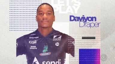 Bauru Basket contrata o ala/pivô Daviyon Draper - Norte-americano de 25 anos chega do México para disputar o restante do NBB