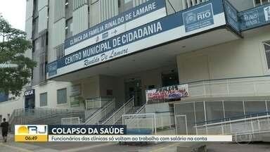 Pacientes deixam Clínicas da Família sem atendimento - Quem buscou atendimento na Rocinha saiu decepcionado.