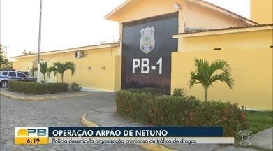 Operação prende 24 suspeitos de integrar facção criminosa que atua na Paraíba - Ação foi deflagrada após a reorganização do grupo. Mandados de prisão e de busca e apreensão foram realizados em João Pessoa e São Paulo.