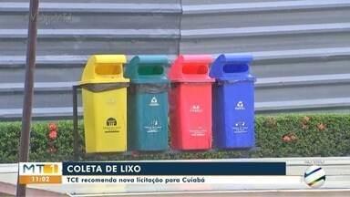 TCE recomenda nova licitação para coleta de lixo em Cuiabá - TCE recomenda nova licitação para coleta de lixo em Cuiabá.