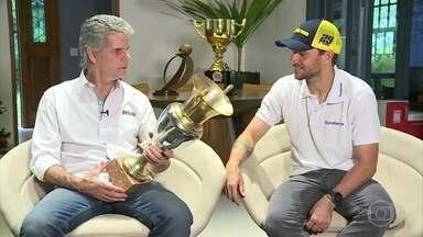 Domingo (15) tem decisão na Stock Car em São Paulo - O líder do campeonato, Daniel Serra, tentará igualar o feito do pai.