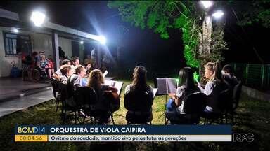 Orquestra de viola: amor ao campo e pelas tradições - Crianças e adolescentes estão mantendo vivo esse costume das antigas gerações que até hoje provoca emoção e saudade nas pessoas
