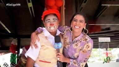 Voluntários da Alegria levam sorrisos e emoção a crianças em festa de fim de ano - Projeto faz o bem por meio do trabalho voluntário e Niara Meireles mostra momento especial