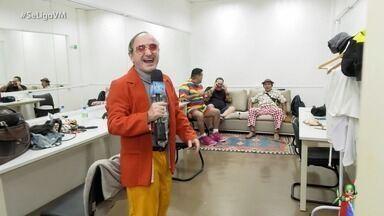 Nos bastidores da gravação do especial Humor no Ceará 2019 - Humoristas cearenses se reúnem em programa cheio de molecagem, muito alto astral e participações especiais