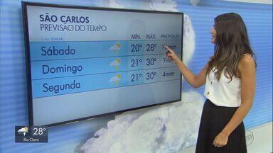 Veja como fica o tempo neste fim de semana na região - O sol deve brilhar em São Carlos.