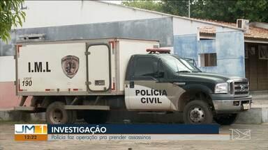 Polícia faz buscas para tentar prender suspeitos de assassinar índio e um homem no MA - De acordo com as investigações, as mortes podem estar ligadas ao tráfico de drogas.