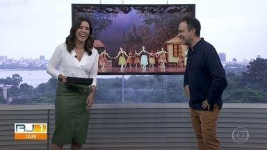 Fábio Júdice indica: shows de Diogo Nogueira, Leny Andrade e os Estação Rio em Itaguaí - Tem também um musical de Natal e o Ballet Giselle no Theatro Municipal