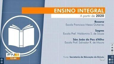 Governo do Estado amplia programa de ensino integral no Oeste Paulista - A partir de 2020, serão mais sete escolas na região de Presidente Prudente.