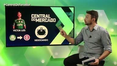 Inter negocia com o Palmeiras a contratação do lateral-esquerdo Victor Luís - Negócio depende do novo treinador do Palmeiras.