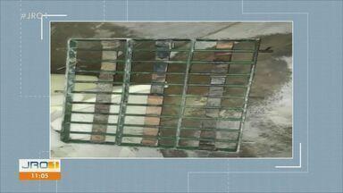 13ª fuga é registrada em Ariquemes - Quatro presos fugiram, mas um já foi recapturado.