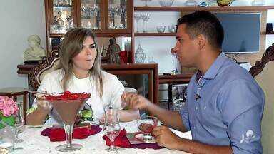 Receita de Soufle de morango com chocolate - Saiba mais no g1.com.br/ce