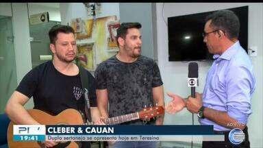 Dupla sertaneja Cleber e Cauan se apresenta em Teresina - Dupla sertaneja Cleber e Cauan se apresenta em Teresina
