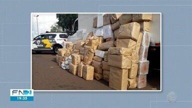 Polícia apreende mais de 1 tonelada de maconha em Rosana - Ocorrência foi registrada nesta sexta-feira (13).