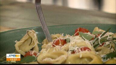 Chef JPB: aprenda a fazer uma deliciosa massa para a ceia de Natal - Tortelli recheado de ricota temperada: fácil de fazer.