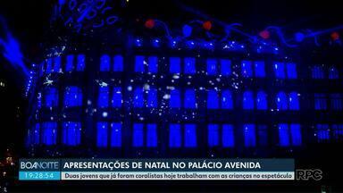 Há 28 anos moradores assistem a apresentação de Natal no Palácio Avenida - A apresentação é em Curitiba