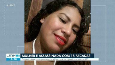 Mulher é morta com 18 facadas em Parintins - Ex é suspeito
