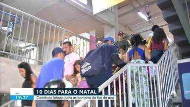 Comércio popular fica lotado para as compras de fim de ano - Saiba mais no g1.com.br/ce