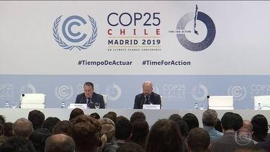 COP 25 adia encerramento enquanto negociadores tentam chegar a acordo - Falta de consenso entre representantes dos países causam indignação entre ativistas e representantes da sociedade civil.