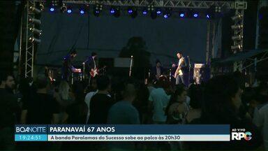 Aniversário de Paranavaí é comemorado com Shows - Os Paralamas do Sucesso e A Banda Mais Bonita da Cidade fizeram a alegria do público.