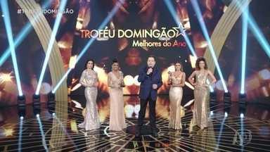 Fausto Silva apresenta o Troféu Domingão: Melhores do Ano - É a 24ª edição da premiação que destaca talentos da televisão, do jornalismo e da música