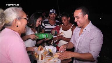 """Jamile e Menilson levam solidariedade através do projeto """"Semeando Amor"""" - Comunidade carente em Socorro foi beneficiada com a ação"""