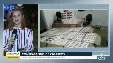 Contrabando de cigarros: Estado de Rondônia deixou de arrecadar R$49 milhões em 2019 - Segundo dados de instituto, 'contrabando atinge 41% do mercado' rondoniense.