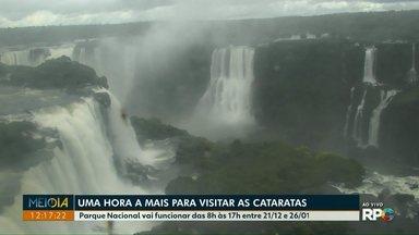 Parque Nacional do Iguaçu vai abrir uma hora mais cedo até o fim de janeiro - Vai funcionar das 8h às 17h entre 21/12 e 26/01.
