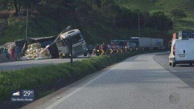 Suzana Siega atualiza notícias do trânsito no Sul de Minas - Veja trechos com acidentes ou mudanças no Sul de Minas