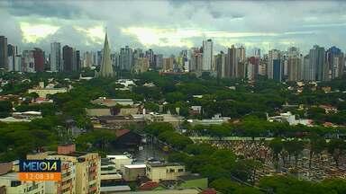 Tempo segue instável na região de Maringá - Nos próximos dias são esperadas pancadas de chuva.