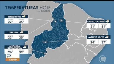 Confira a previsão do tempo no Piauí - Confira a previsão do tempo no Piauí
