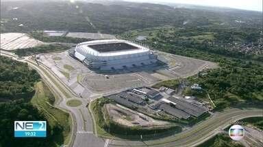 TCE julga denúncia de superfaturamento na obra da Arena de Pernambuco - Audiência durou toda esta terça-feira (17)