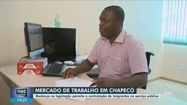 Norma permite que Imigrantes ocupem cargos públicos em Chapecó - Norma permite que Imigrantes ocupem cargos públicos em Chapecó