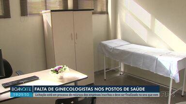 Ginecologistas dos postos de saúde serão contratados só em 2020 - Prefeitura havia prometido que os profissionais começariam a atuar em dezembro, mas a promessa não foi cumprida
