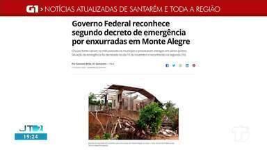 Confira o destaque do G1 Santarém e região - Saiba quais notícias regionais acessando o portal.