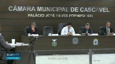 Última sessão ordinária do ano na Câmara de Cascavel discute projetos importantes - Vereadores aprovaram oito projetos em segunda discussão.