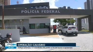 JPB2JP: BLOCO 1: Ex-governador da PB, Ricardo Coutinho, é alvo de mandado de prisão - Sétima fase da Operação Calvário.