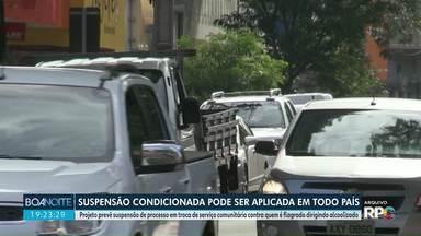Motoristas prestam serviços relacionados à saúde pra não responder por embriaguez - Em Maringá, já são mais de 300 casos